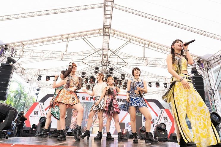 吉川友 アップアップガールズ(仮)ステージ乱入<JAPAN EXPO THAILAND 2019>