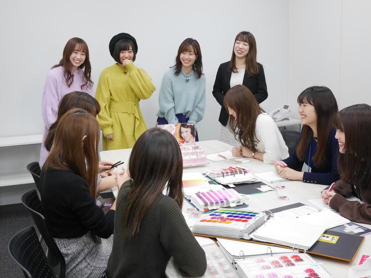 2月13日OA【CANMAKE】ロケ風景2