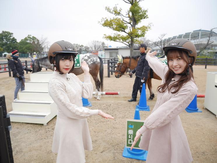 2月14日OA【JRA】ロケ風景2