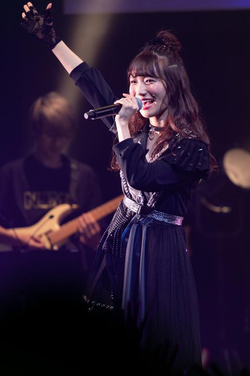 江嶋綾恵梨(26時のマスカレイド) 2019年2月6日(水)東京・渋谷TSUTAYA O-EAST<2月6日のマスカレイド~今宵はバンドで踊りましょ?~>より
