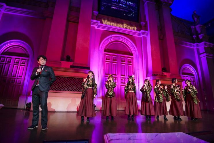 シングル「伊達だって」発売記念イベント│2019.3.10 お台場ヴィーナスフォート教会広場