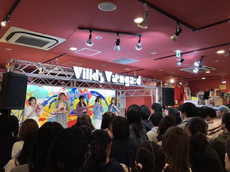 わーすた 1st写真集『わんだふるこれくしょん』出版記念イベント|ヴィレッジヴァンガード渋谷本店(2019年4月13日)