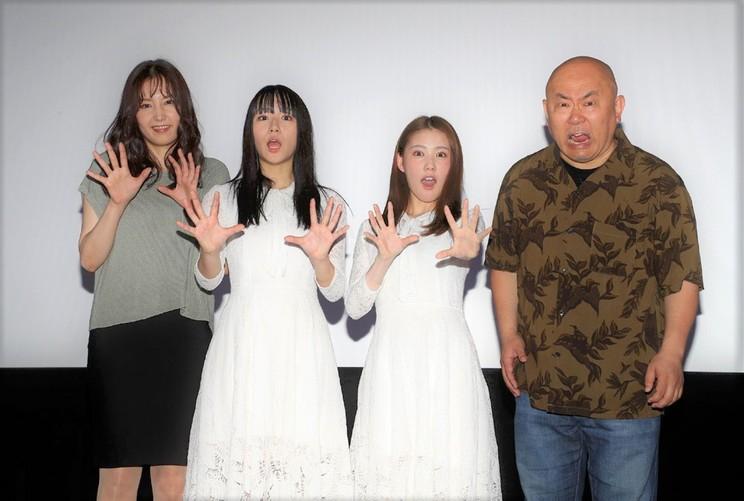 浅川梨奈<映画『黒い乙女Q』舞台挨拶> シネマート新宿(2019年6月1日)