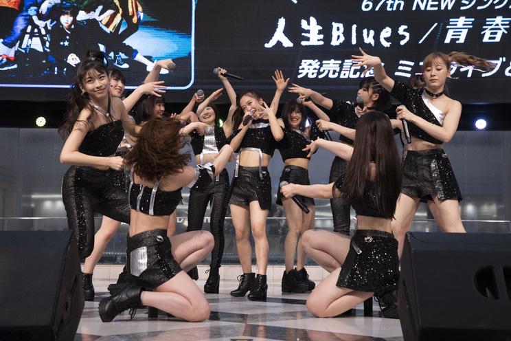モーニング娘。 '19「人生Blues/青春Night」リリースイベント│2019/6/11 @池袋サンシャインシティ 噴水広場