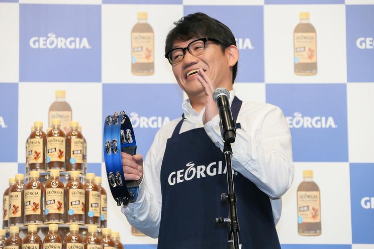 ずん・飯尾和樹<『ジョージア ジャパン クラフトマン 微糖』発売記念イベント>|スパイラルホール(2019年6月18日)