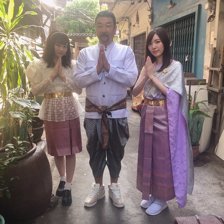 江籠裕奈、松井珠理奈(SKE48)|『松井珠理奈のインスタ映え100枚チャレンジ旅』(無料動画アプリ『Chuun』)より