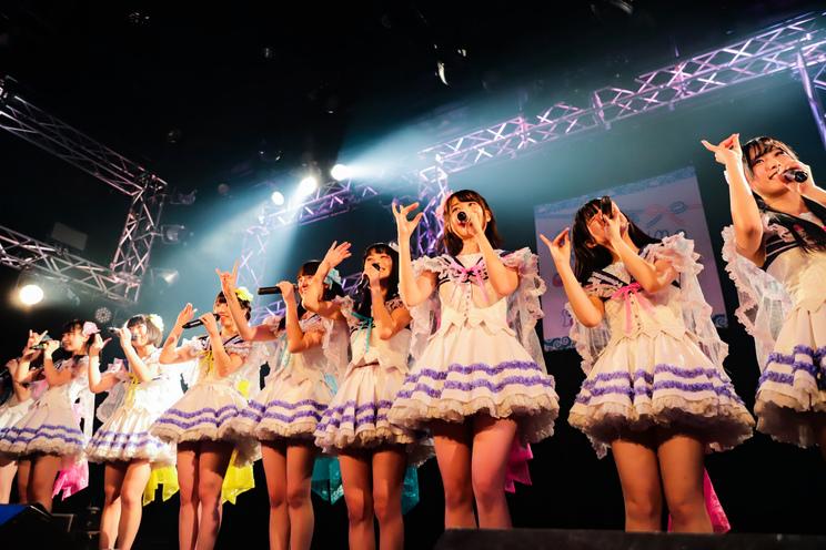 虹のコンキスタドール、寺嶋由芙 <TERASHIMA KAWAII FESTIVAL vol.1>(新宿ReNY/2018年12月21日)