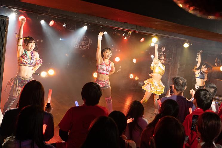<アップアップガールズ(プロレス) プロレス女祭り>|東京・渋谷GARRET(2018年12月31日)