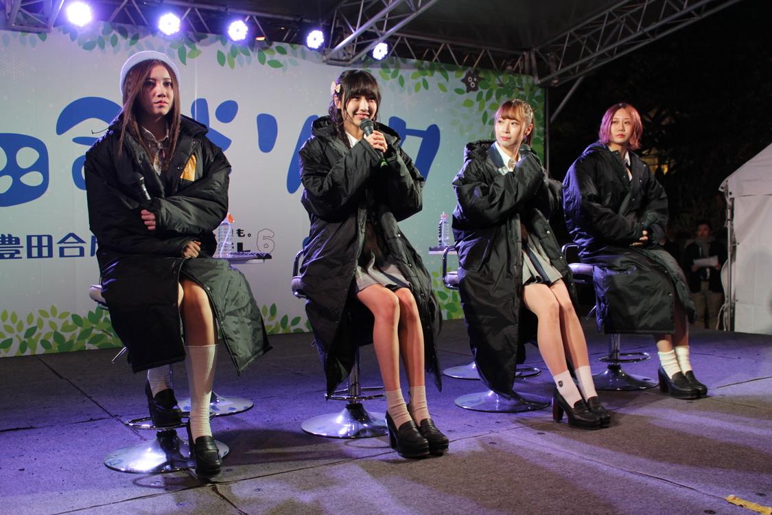 SKE48が栄の魅力を語る!オアシス21でメンバー4人がトークショー開催