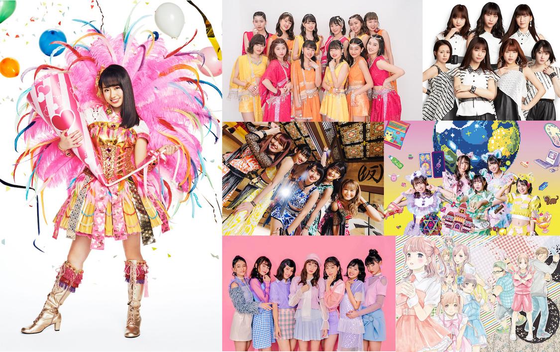 <愛踊祭2019>アンバサダー第2弾にももクロ 佐々木彩夏+公式サポーターにアンジュルム、Juice=Juice、アプガ、わーすた、Chuning Candy