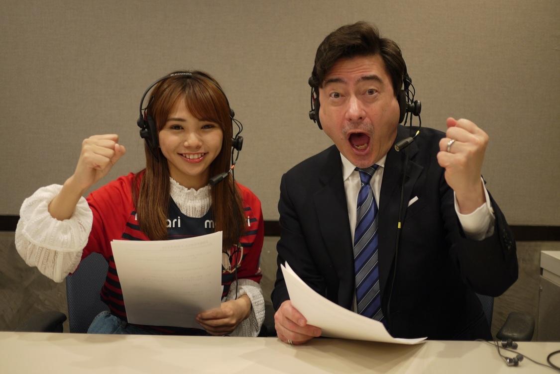NMB48 磯佳奈江、ジョン・カビラと一緒にサッカー実況チャレンジ?