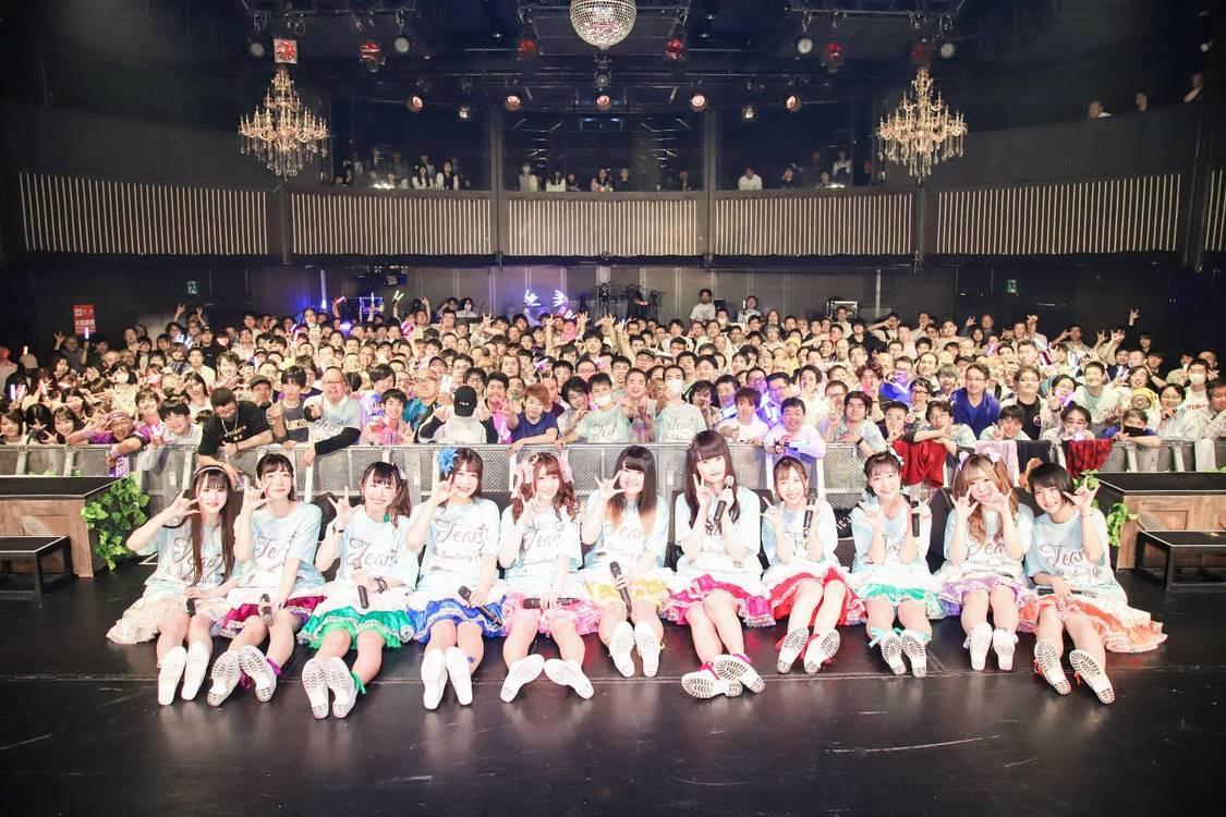 TEARS-ティアーズ-、クルージング水着ワンマン&2nd SG発売決定!新宿ReNY大盛況