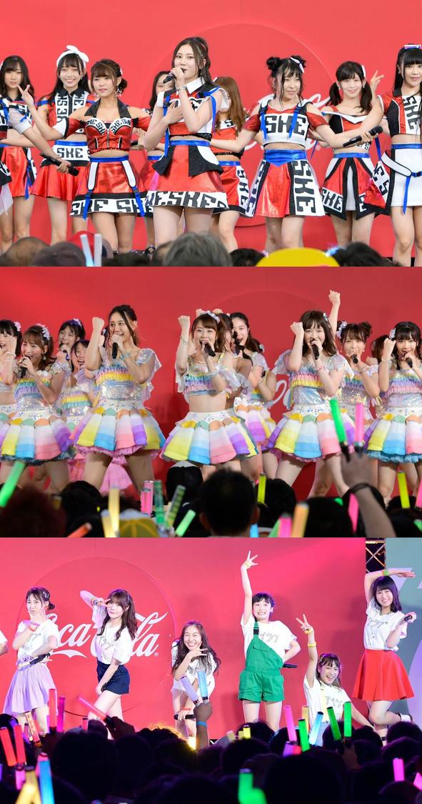 SKE48、<テレ朝夏祭り サマステ音楽ライブ>放送決定!