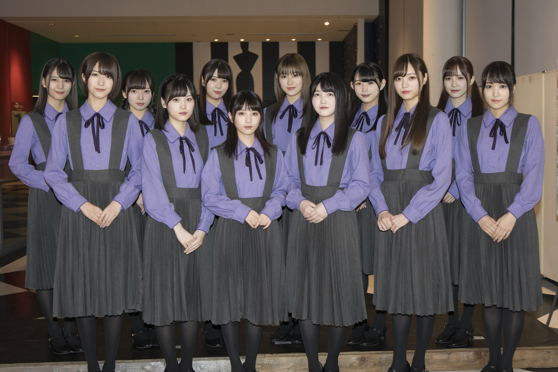 後列左より:小坂、齊藤、小林、守屋、柿崎、加藤/前列左より:土生、山下、与田、久保、梅澤、菅井